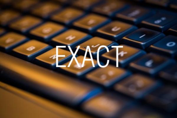 EXACT関数で文字列が等しいかどうかを調べる