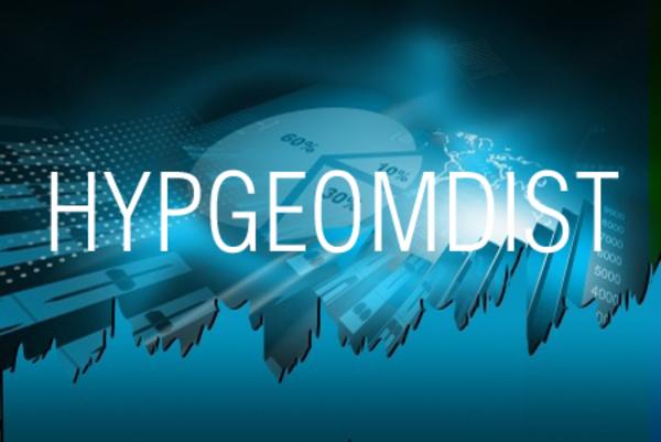 HYPGEOMDIST関数で超幾何分布の確率を求める