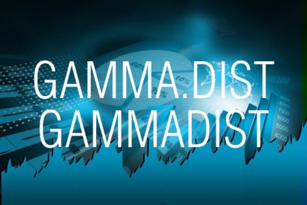 GAMMA.DIST関数/GAMMADIST関数でガンマ分布の確率や累積確率を求める
