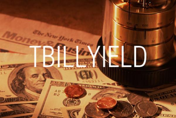TBILLYIELD関数で米国財務省短期証券の利回りを求める