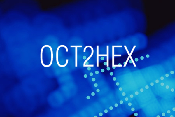 OCT2HEX関数で8進数表記を16進数表記に変換する