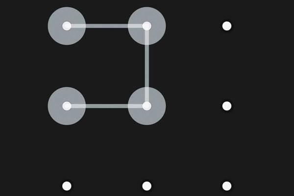 GALAXY S5で画面ロックのパターンを設定するには