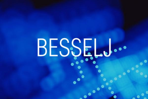 BESSELJ関数で第1種ベッセル関数の値を求める