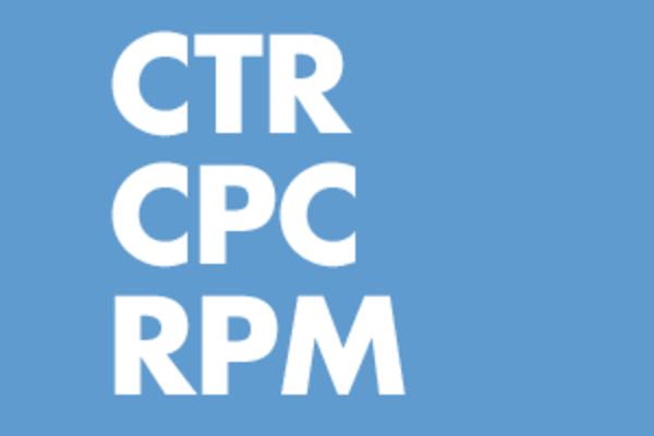AdSense(アドセンス)のレポートにおける「CTR」「CPC」「RPM」について理解する