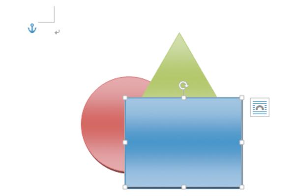 Wordで複数の図形が重なる順番を変更する方法