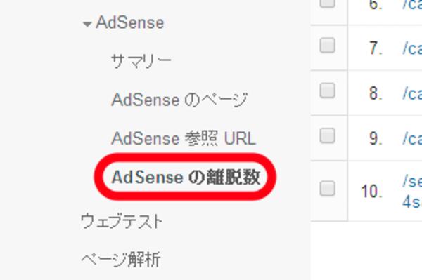 AdSense(アドセンス)の収益と、Googleアナリティクスの離脱数の関係に着目しよう