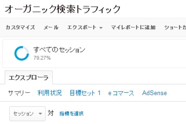 AdSense(アドセンス)の収益につながっている検索キーワードをGoogleアナリティクスで見つけるには