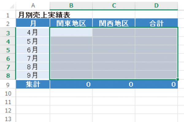Excelで[Delete]キーを使わずドラッグ操作だけでデータを削除する方法