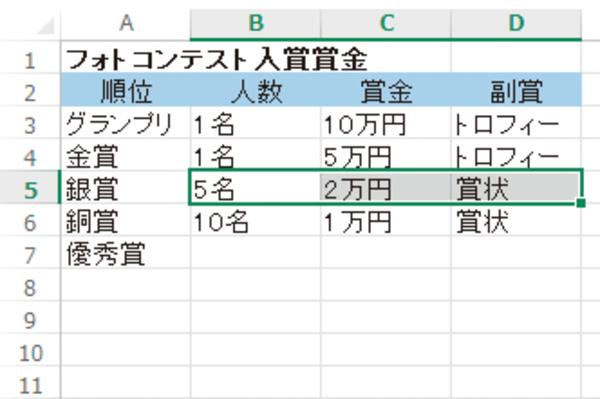 Excelでデータをセルごと削除する方法
