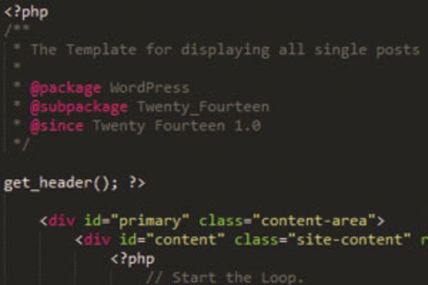 WordPressのテーマを構成するHTML、CSSの構造の解説