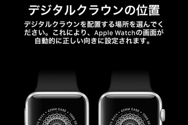 左利きでも大丈夫! Apple Watchを右腕に着けるときの設定方法