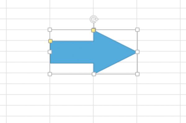Excelで作成した図形の形状を変える方法