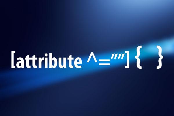 指定した文字列で始まる属性値を持つ要素にスタイルを適用する