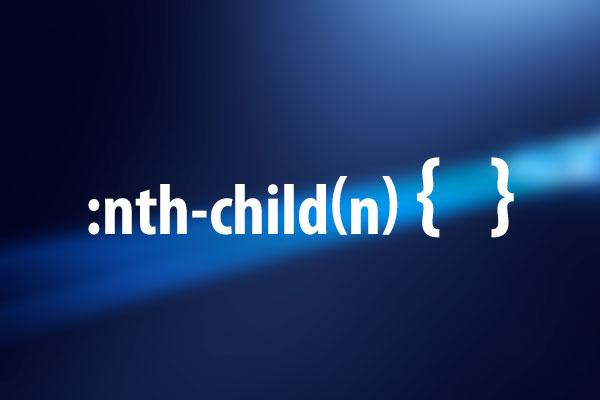 n番目の子要素にスタイルを適用する