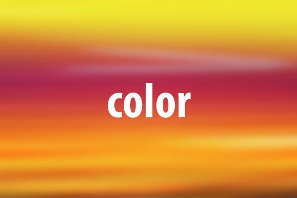 colorプロパティの意味と使い方