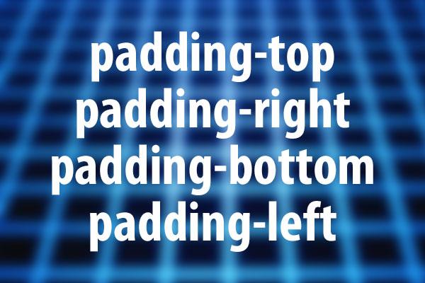 padding系プロパティの意味と使い方