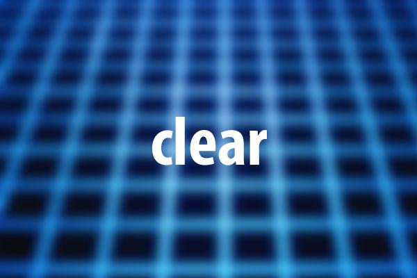 clearプロパティの意味と使い方