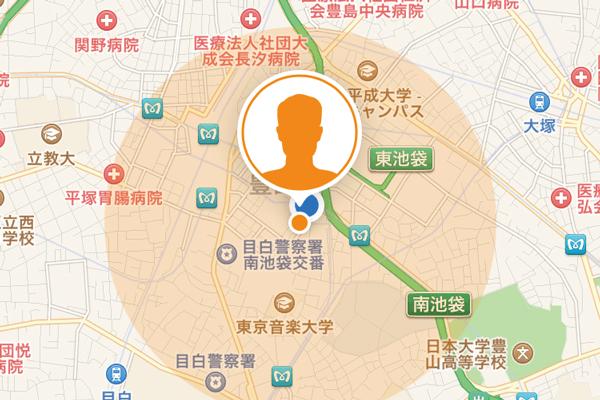 iPhoneで位置情報を共有する「友達を探す」アプリの使い方