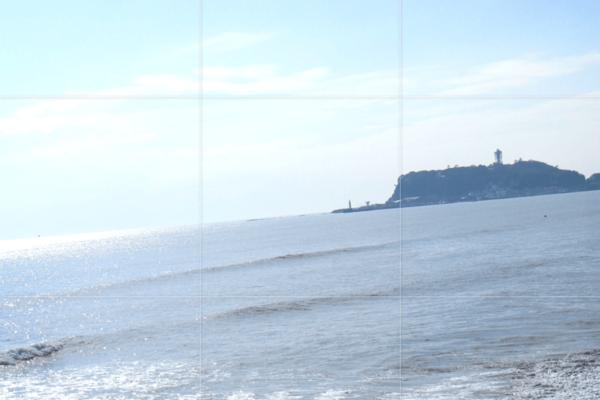 水平線を美しく。Instagramのアプリで写真の傾きを修正する方法