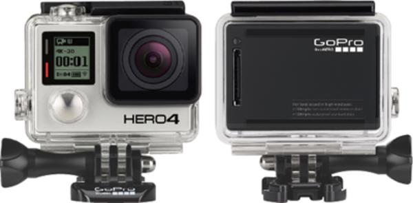 GoPro主要モデル(HERO Session/HERO4 Black/Silver)の特徴と比較