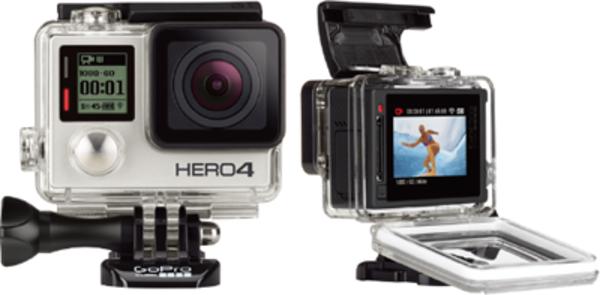 GoPro HERO4 Black/Silverの液晶画面と設定項目