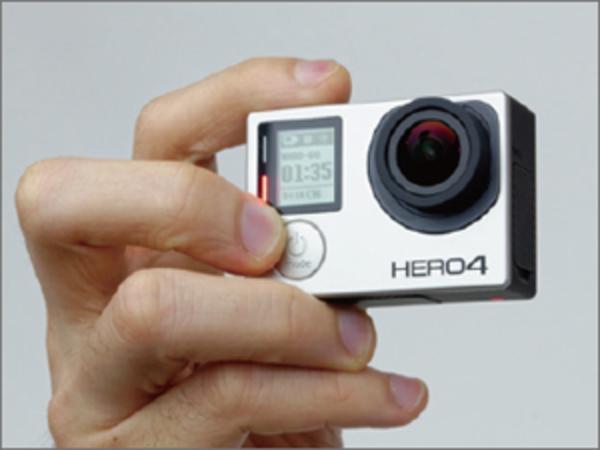 GoPro HERO4 Black/Silverの各部名称と基本的な使い方
