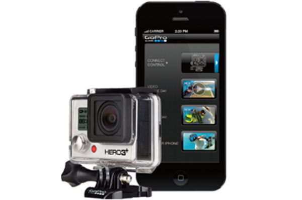 iPhoneでGoProを操作する「GoPro App」の初期設定