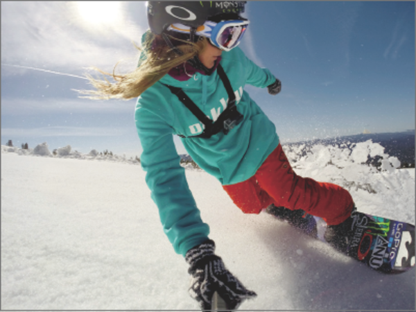 GoPro撮影ガイド:スキー&スノーボードにおすすめのマウントと使い方