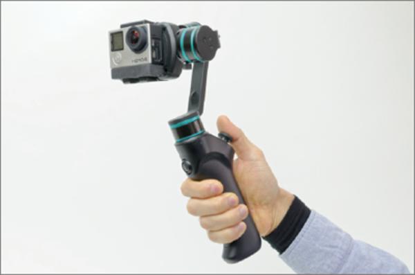 GoProの映像をパワーアップする外部マイクとスタビライザー