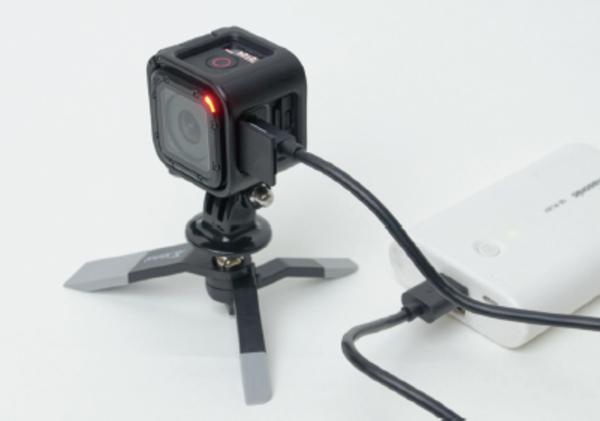 GoProは充電しながらでも撮影できる?
