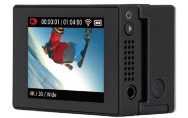 GoProのタッチディスプレイを使った動作再生・編集機能