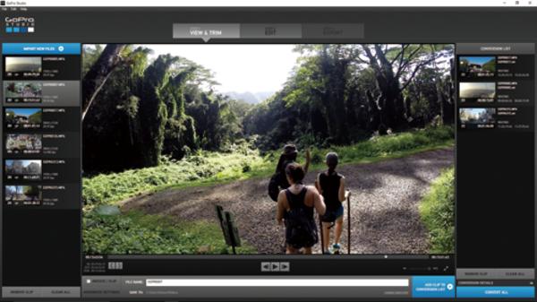 無料の動画編集ソフト「GoPro Studio」の基本操作と画像の変換