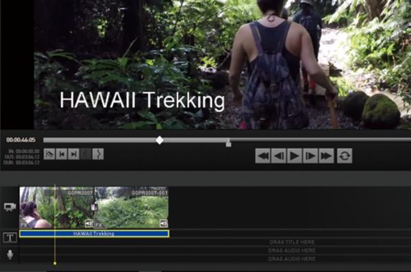 GoPro Studioで動画にテロップを挿入する方法