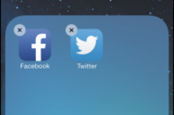 iPhoneのアプリを「フォルダ」にまとめる方法