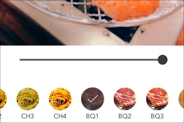 写真もおいしく! 「スイーツ」「肉」専用フィルター搭載の食べ物撮影アプリ「Foodie」