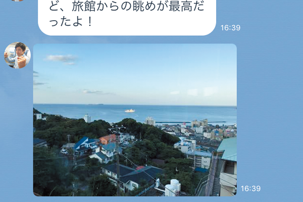 LINEで写真を送る方法