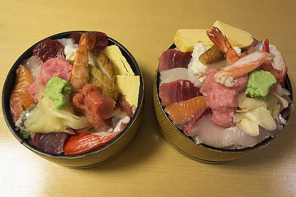 【神保町ペロリ旅】第25食 老舗のドカ盛り! 「神田すし定」の「ちらし大盛り」