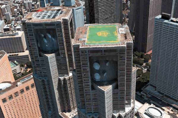 巨人の視点で見下ろす快感! iPhone標準マップの3D機能「Flyover」でVRを手軽に体験する