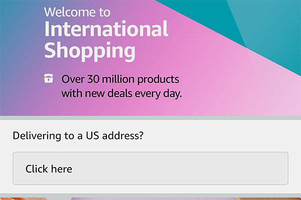 米Amazonの商品が日本で買える新機能「インターナショナルショッピング」の使い方:Amazon.comのアカウントを作る