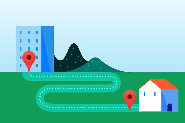 ルート検索を便利に。Googleマップでよく行く場所に「ラベル」を付けよう