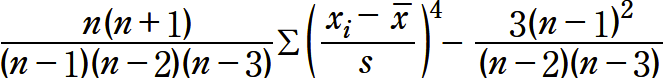 KURT関数の定義