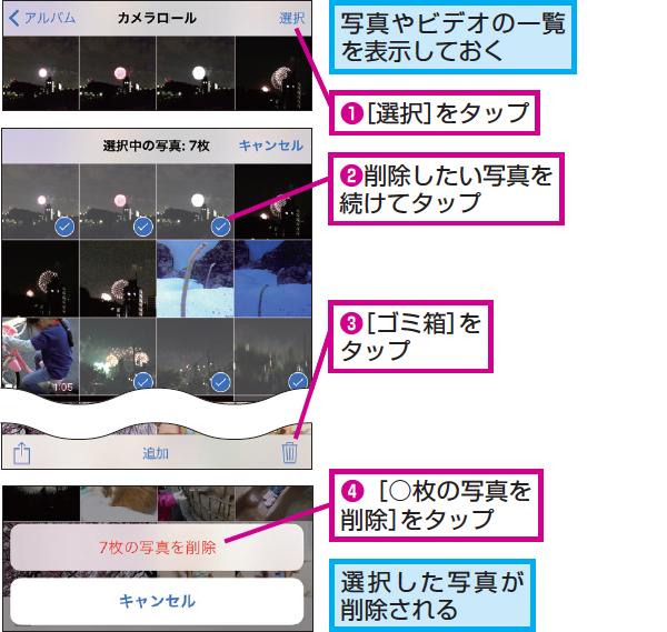 PC画像や動画をカメラロールへ戻すテク   …