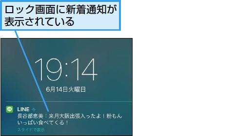 Lineでロック画面の通知を非表示にする方法 できるネット