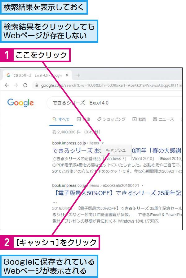 Google検索で表示できないWebページを開く方法