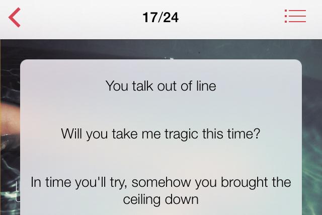 iTunesで曲に歌詞を追加する