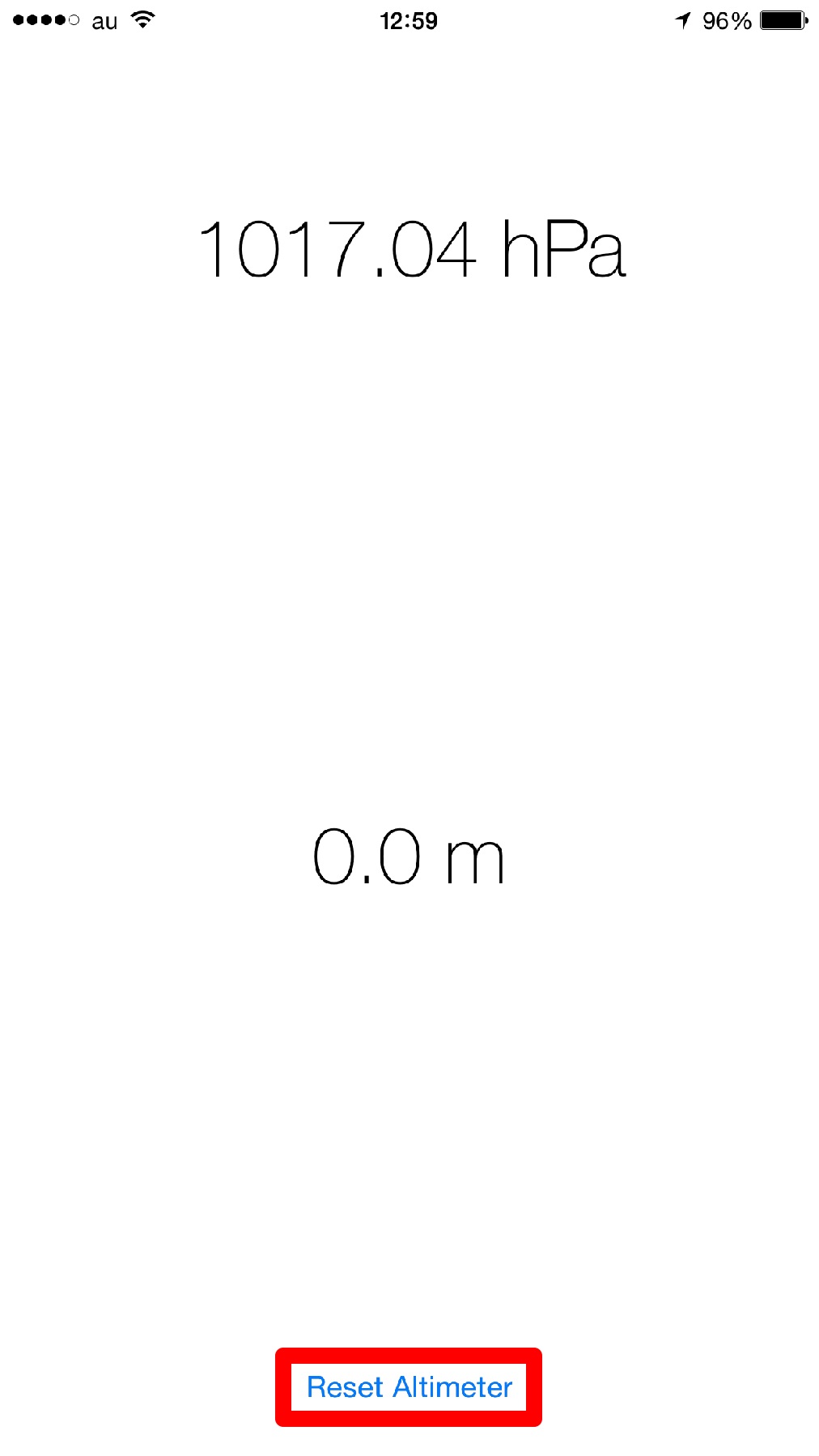 [Barometer]をインストールする