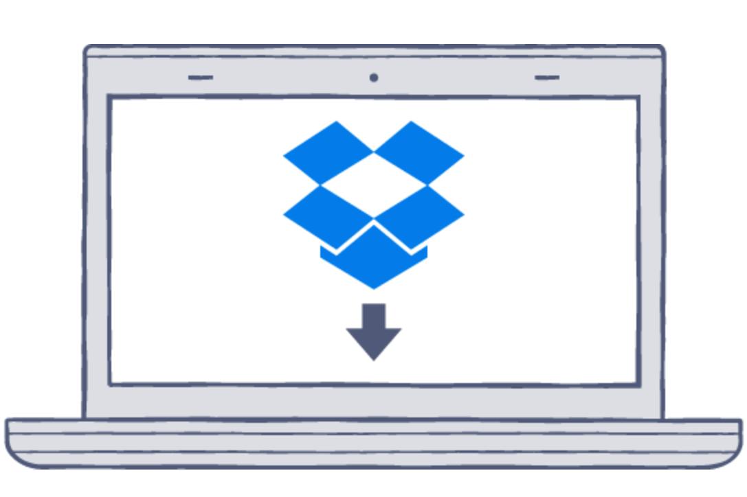 Dropboxをパソコンにインストールする