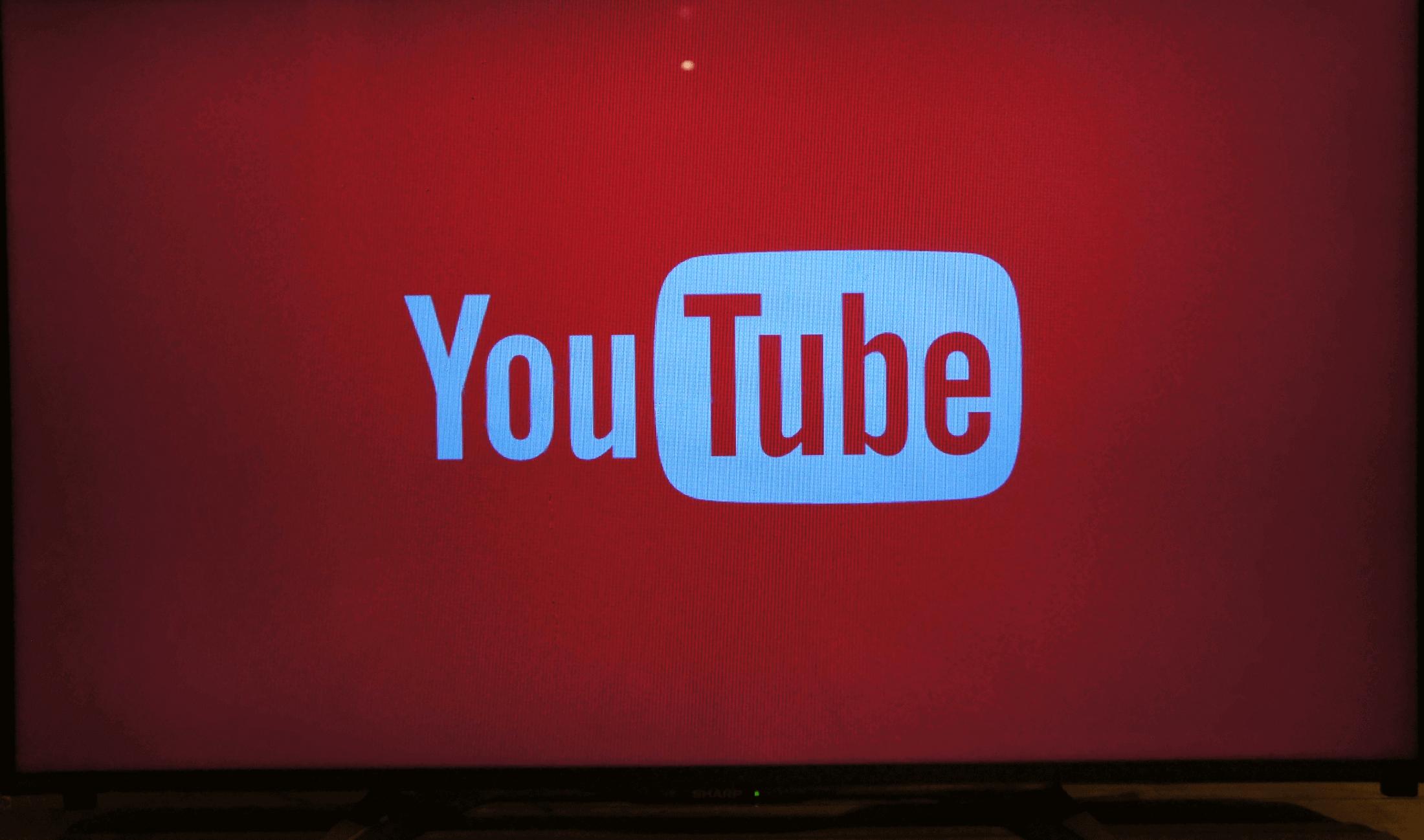 テレビでYouTubeが起動する