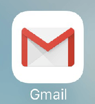 iPhoneの[Gmail]アプリのアイコン