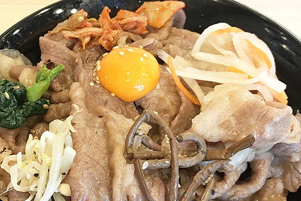 【神保町ペロリ旅】第22食 高級リブロースを手軽に!「焼肉のさがみや」の「リブロース焼きすき丼」